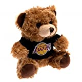 Los Angeles Lakers Official Basketball Gift T-Shirt Bear - A Great Christmas / Birthday Gift Idea For Men And Boys