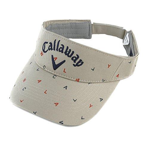 キャロウェイゴルフ Callaway Golf 帽子 サンバイザー 2477990802 レディス ベージュ 040 フリー