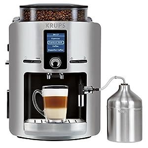 KRUPS EA826E Kaffeevollautomat (1,8 l, 15 bar, LC Display, Cappuccinatore)...