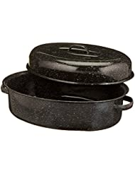Granite Ware 18 Inch Covered Oval Roaster