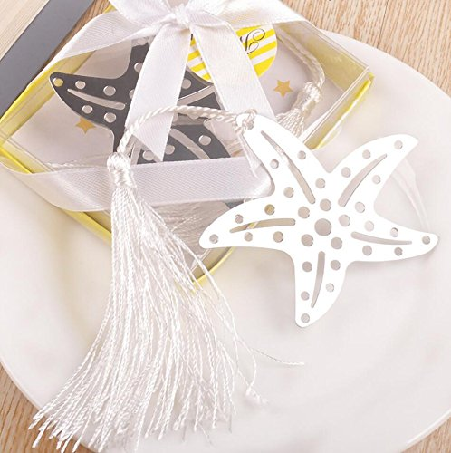 Book Lovers Collection Metal Starfish Bookmark Favors (72)