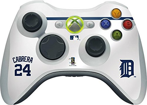 Miguel Cabrera Games (MLB Detroit Tigers Xbox 360 Wireless Controller Skin - Detroit Tigers - Miguel Cabrera #24 Vinyl Decal Skin For Your Xbox 360 Wireless Controller)