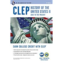 CLEP® History of the U.S. II Book + Online