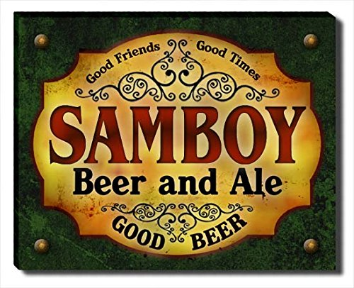 samboy-beer-ale-stretched-canvas-print