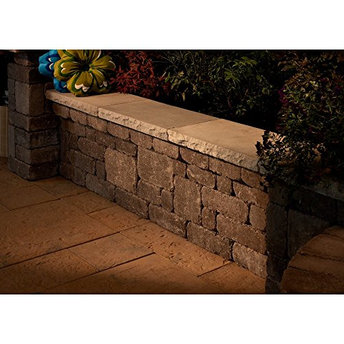 Necessories 6 ft. Desert Lakeland Seat Wall (Brick Patio Ideas Backyard)