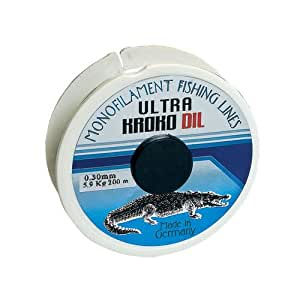 Krokodil Makara Misina 100 Metre Misina  Yüksek Alman Teknolojisi, Hızlı Sarım, Güçlü ve  Dayanıklı Misina Şeffaf 0.20 mm