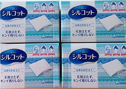 Unicharm- Silcot Namerake Jitate 82p (4 packs x 82p)