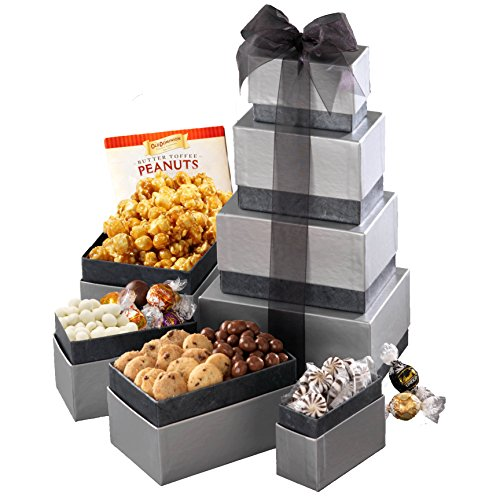 Broadway Basketeers In Loving Memory Condolence Wishes Gift Tower a Sympathy Gift