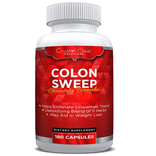 Colon Cleanse Weight Cleanser Capsules