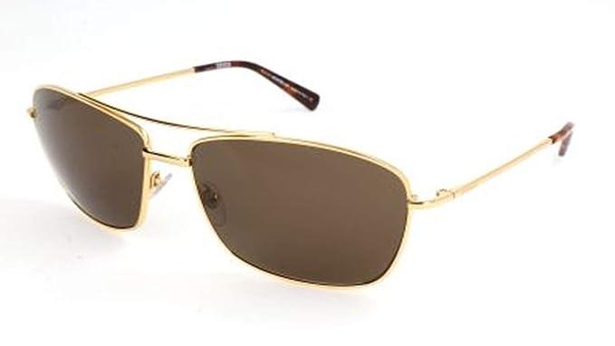 Montblanc Mont Blanc Sunglasses Mb548S 30E-63-16-140 Gafas de sol, Dorado (Gold), 63 para Hombre