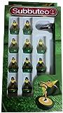 Paul Lamond Subbuteo - Juego de figuritas de fútbol, color verte y amarillo
