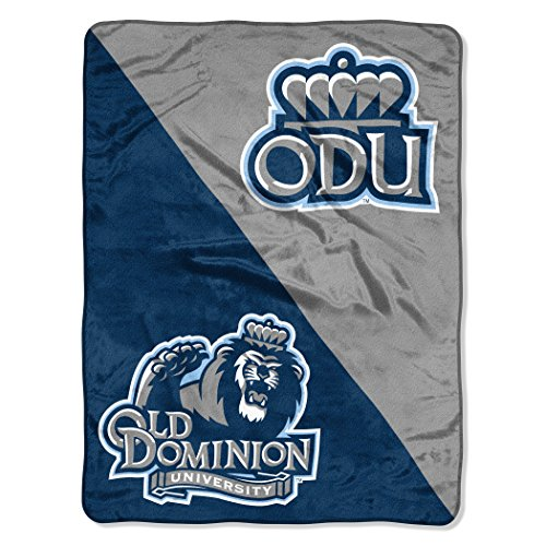 Officially Licensed NCAA Throw Blanket Multi Color 46 x 60
