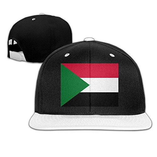 Flag Of Sudan Adult Unisex Baseball Snapback Hat Trucker Hats Hip-Hop Cap For Men and - Singapore In Girls Ukraine
