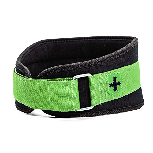 Harbinger Women's Nylon Weightlifting Belt with Flexible Ultralight Foam Core, 5-Inch
