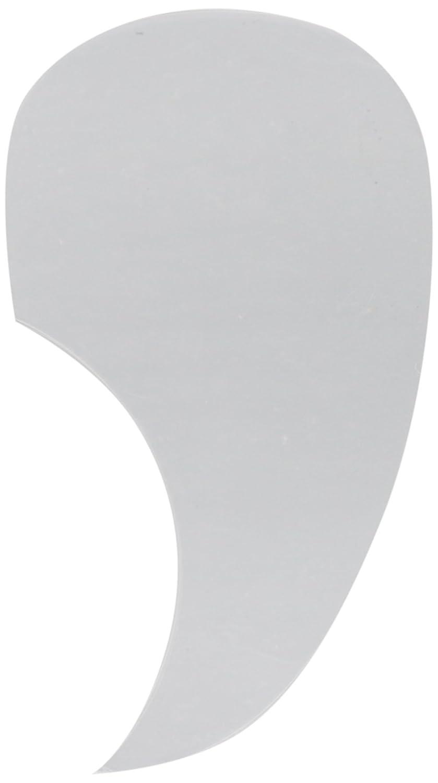 Kmise a8571 2 Piece透明コンマ形シェルアコースティックギター粘着Pickguard   B00RWXCPR4