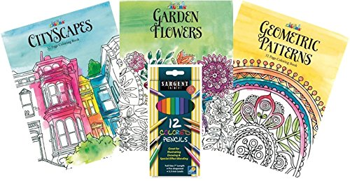 Amazon Just For Laughs Adult Coloring Book Kit With Pencil Set Toys Games