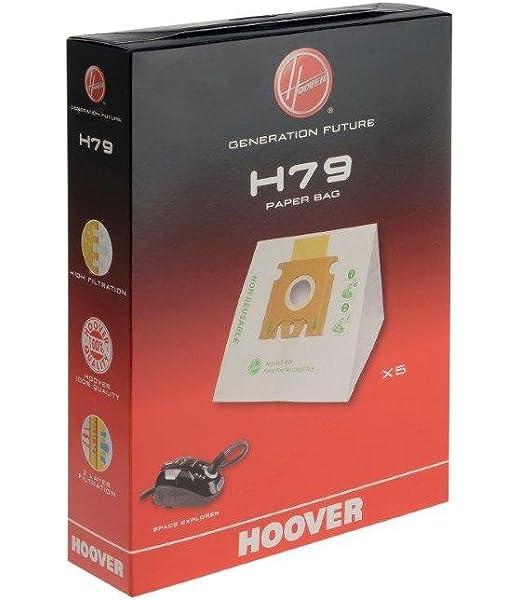Hoover H79 Bolsa para aspiradora, 3 litros, Paper: Amazon.es: Hogar