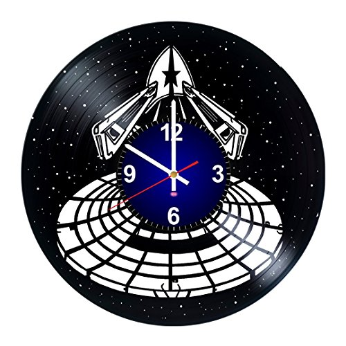 Millennium Falcon Star Wars - Best gift for men, boys, women and girls - Art Vinyl Record Wall Clock - Art Decoration