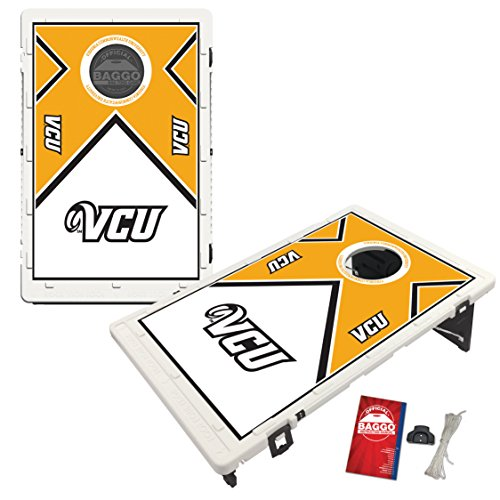 Virginia Commonwealth University Rams VCU Baggo Bean Bag Toss Cornhole Game Vintage Design by Victory Tailgate