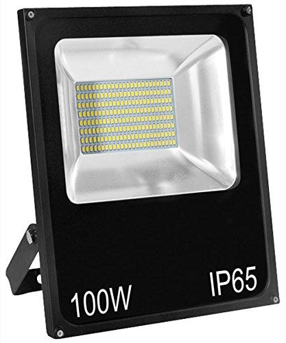 Hepoluz SMD Proyector LED, 100 W, Negro: Amazon.es: Iluminación