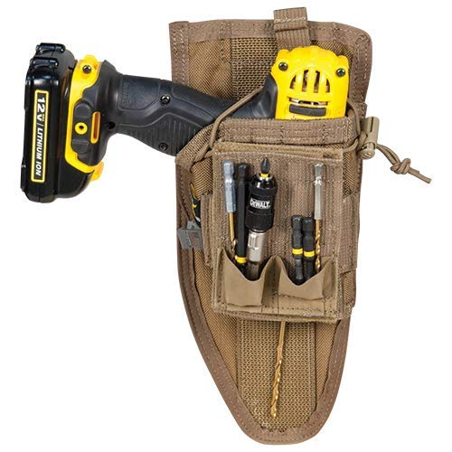 Atlas 46 AIMS Drill Holster - Left Handed, Coyote | Hand crafted in the USA
