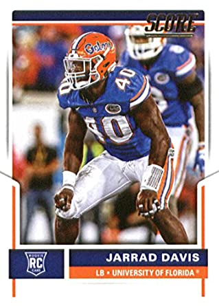 246bccd0 Amazon.com: 2017 Score #380 Jarrad Davis Florida Gators Rookie ...