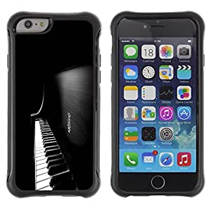 SHIMIN CAO@ Piano Keys Rugged Hybrid Armor Slim Protection Case Cover Shell For iphone 6 6S CASE Cover ,iphone 6 4.7 case,iphone 6 cover ,Cases for iphone 6S 4.7