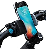Widras Bike and Motorcycle Cell Phone Holder | Bicycle Mount For iPhone 7, 6s, 5s Plus, Samsung Galaxy S5 S6 S7 Note or any Smartphone & GPS| Mountain & Road Bicycle Handlebar Cradle Pokemon Go