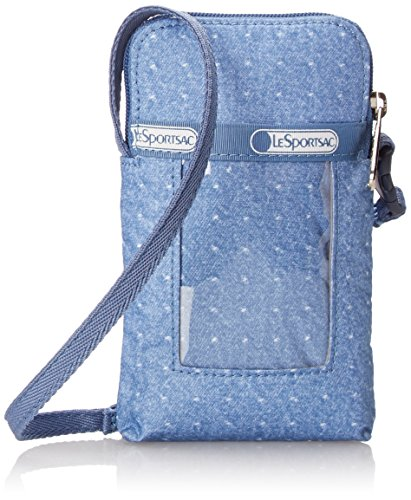 lesportsac-smart-phone-carrier-cell-phone-case-denim-piquet-one-size