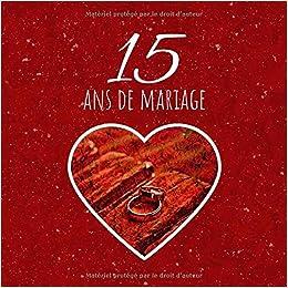 15 Ans De Mariage Livre Danniversaire Livre Dor Mariage