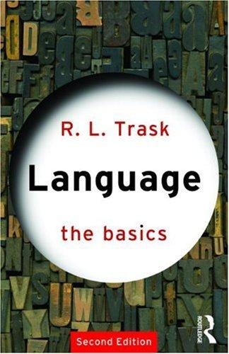 Language: The Basics:2nd (Second) edition