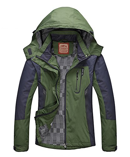 Outdoor Jacket keeps you warm and dry