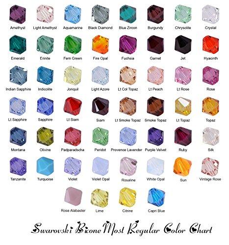 100 Genuine Swarovski Crystal Beads - 9