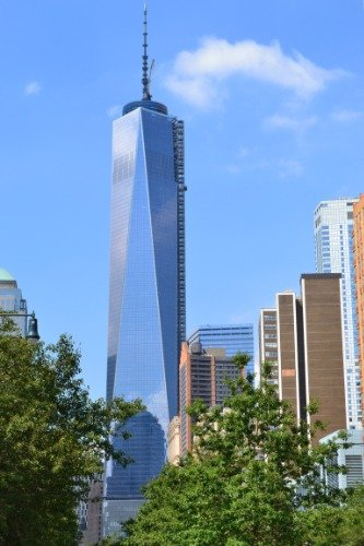 NEW ONE WORLD TRADE CENTER GLOSSY POSTER PICTURE PHOTO BANNE
