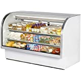 True Curved Glass Deli Case - 2 Doors, 2 Shelves, 72 [TCGG-72]