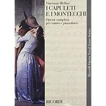 I Capuleti e I Montecchi: Vocal Score