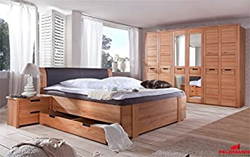 Landhaus Schlafzimmer Komplettzimmer 6-teilig 61018 Doppelbett ...