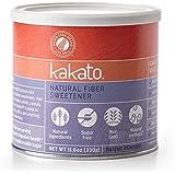 Kakato High Fiber Sweetener - Non-GMO, Natural, Low Calorie Sugar Substitute - Artificial Free, Gluten Free, Prebiotic, Sugar Alcohol Free - All Purpose Healthy Sweetener (1 Cannister - 11.7 Oz)