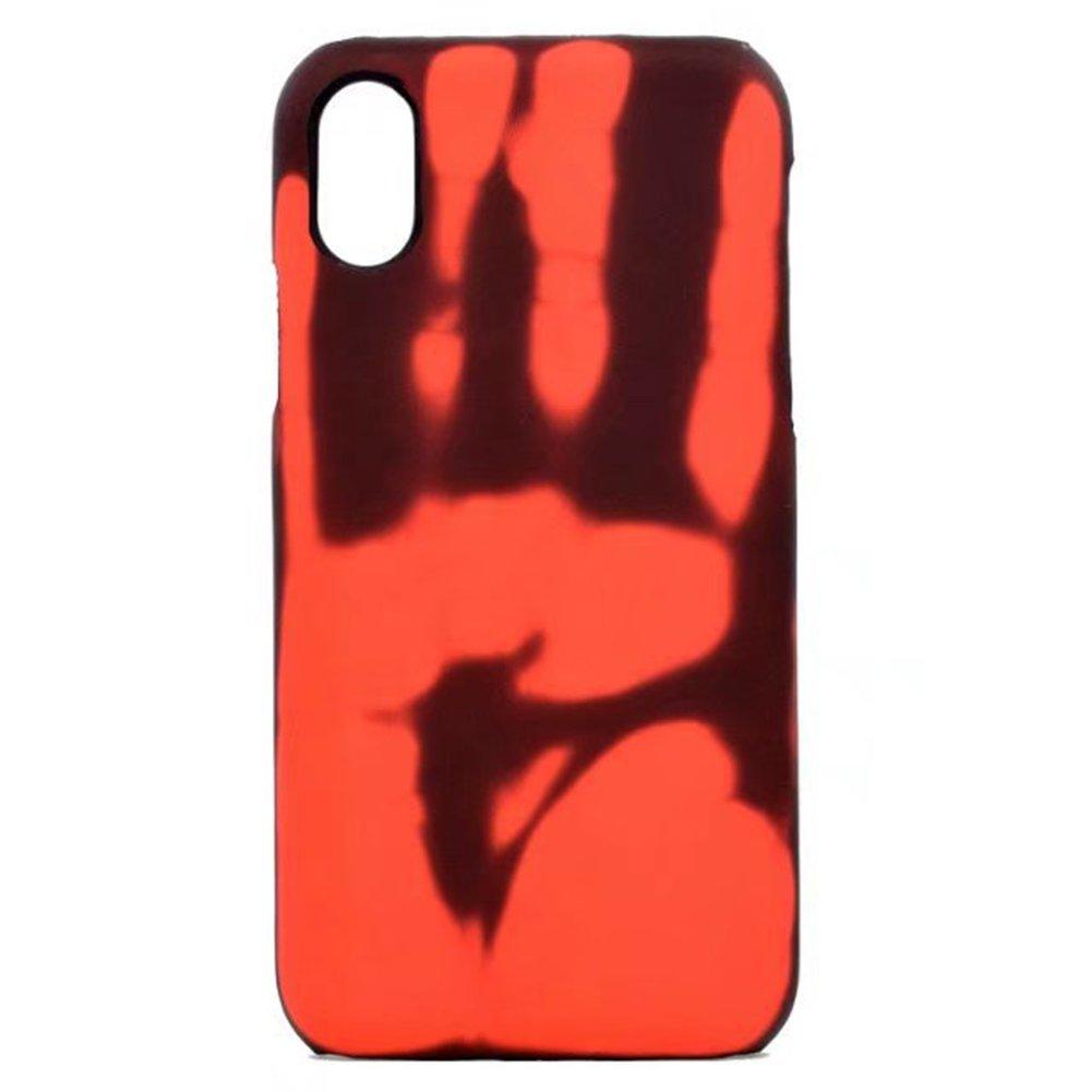Cases for iPhone, Heat Sensitive Color Change Magic Back Case Cover for iPhone 6/6S/6 Plus/6S Plus/7/7 Plus/8/8 Plus/X