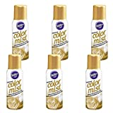 Wilton Gold Color Mist Shimmering Food Color Spray, Multipack of 6