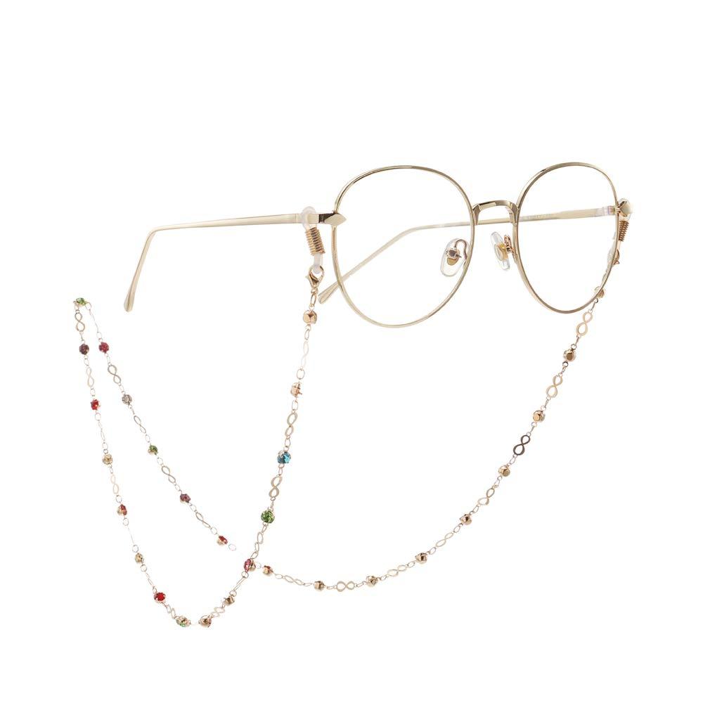Accessories Catene per Occhiali Catenelle Colorate per Occhiali da Vista per Occhiali da Donna Wuxingqing
