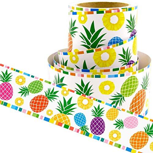 Pineapple Bulletin Board Borders Confetti-Themed Border for Classroom Decoration 36ft -