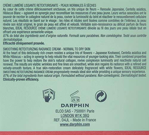 Darphin Ideal Resource Smoothing Retexturizing Radiance Cream, 1.7 Ounce