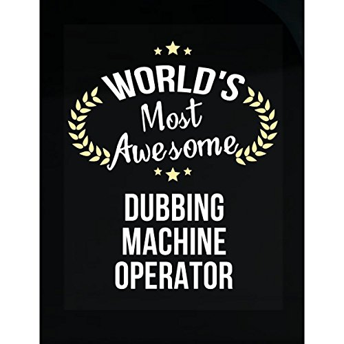This Gift Rocks ! World's Most Awesome Dubbing Machine Operator - - Dubbing Machine
