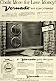 1956 Ad O A Sutton Corp Inc Vornado Air Conditioner Cooling Appliances Wichita - Original Print Ad