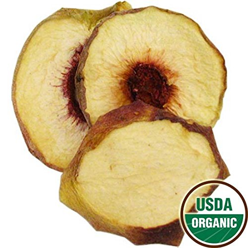 Organic Dried White Peaches, 2.5 lbs by Bella Viva Orchards Dried Fruit