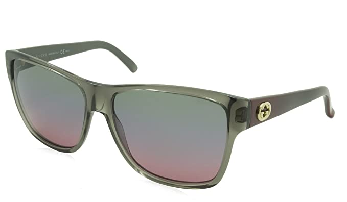 24ff38ad9bc16 Image Unavailable. Image not available for. Colour  Gucci Sunglasses GG  3579 S WQ9YV Acetate plastic Grey Brown Red Green Blue Plum