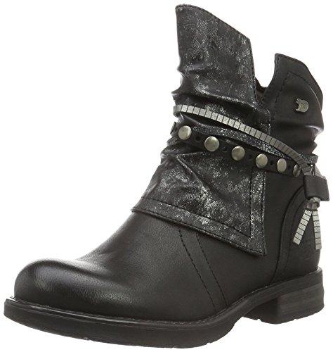 Noir Motardes Tom Tailor Bottes 1695612 black Femme qXtwtgRr1