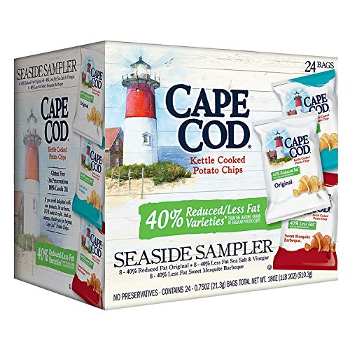- A Product of Cape Cod Reduced Fat Chips, Variety Pack (24 ct.)