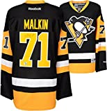 Evgeni Malkin Black Pittsburgh Penguins Autographed Reebok Premier Jersey - Frameworth - Fanatics Authentic Certified